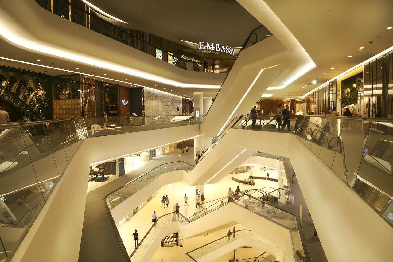Shopping en Asie