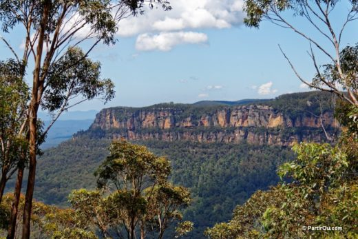 Blues mountains australie